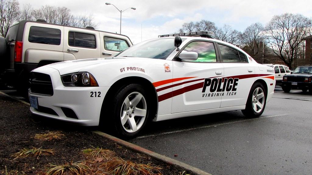 Virginia Tech Police cruiser  670ebe748e473