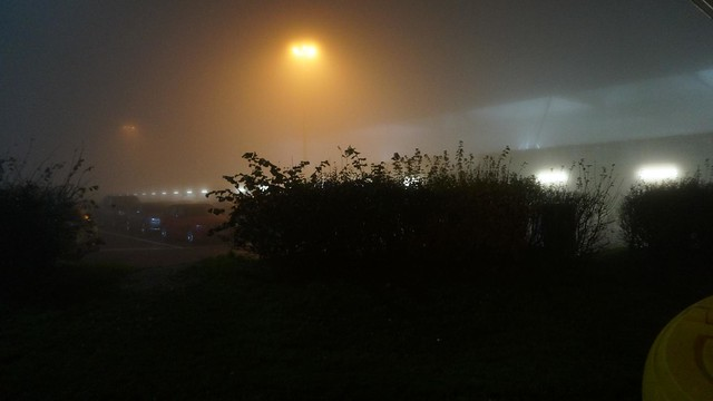 Foggy London Stansted