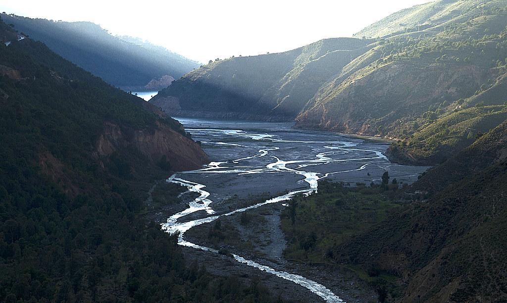 Río Guadalfeo a su paso por Órgiva