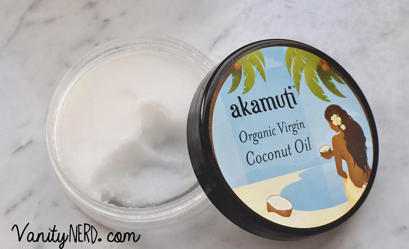Akamuti: olio di cocco