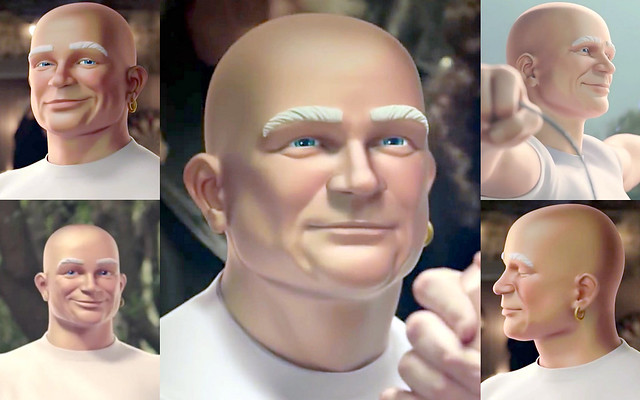 Mr. Clean - Closeups (RL)