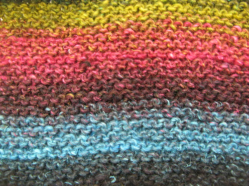 On the needles: Noro Silk Garden