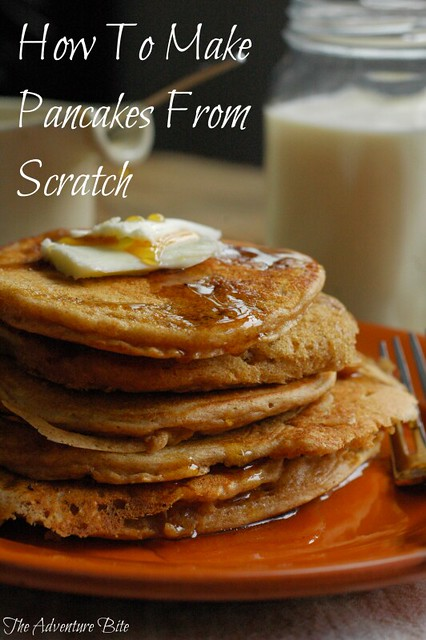pancake recipe from scratch