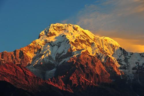 The Burning Dhaulagiri