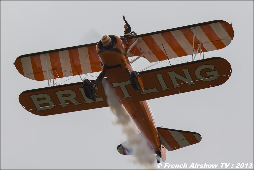 Breitling Wingwalkers,Salon du Bourget 2013,Paris Airshow 2013