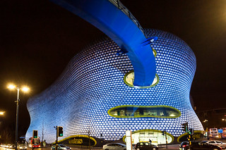 Future Systems' Selfridges building in the Bullring Shopping Centre