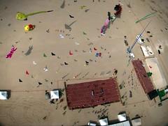 NE corner of the Al-Farsi kite festival flying grounds, Day 1