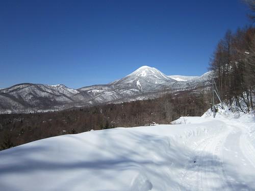 蓼科山と八子ヶ峰 2014年3月11日13:23 by Poran111