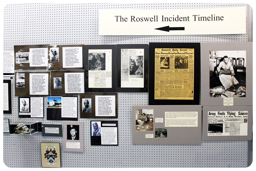 roswell new mexico ufo museum incident timeline