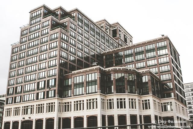 Canary Wharf (Кэнэри-Уорф) London