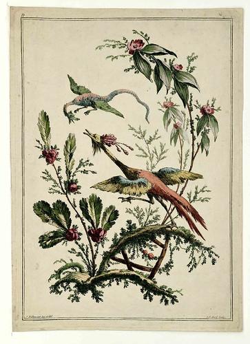 015-Flores y pajaros-Oeuvre gravé de Jean Pillement..1767-Vol 3- INHA