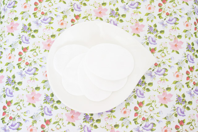pretty plate for beauty products