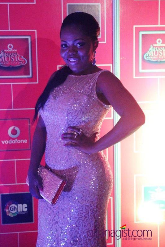 Mzbel at 2014 Ghana Music Awards
