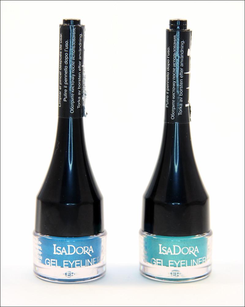IsaDora turquoise & aqua gel liner waterproof