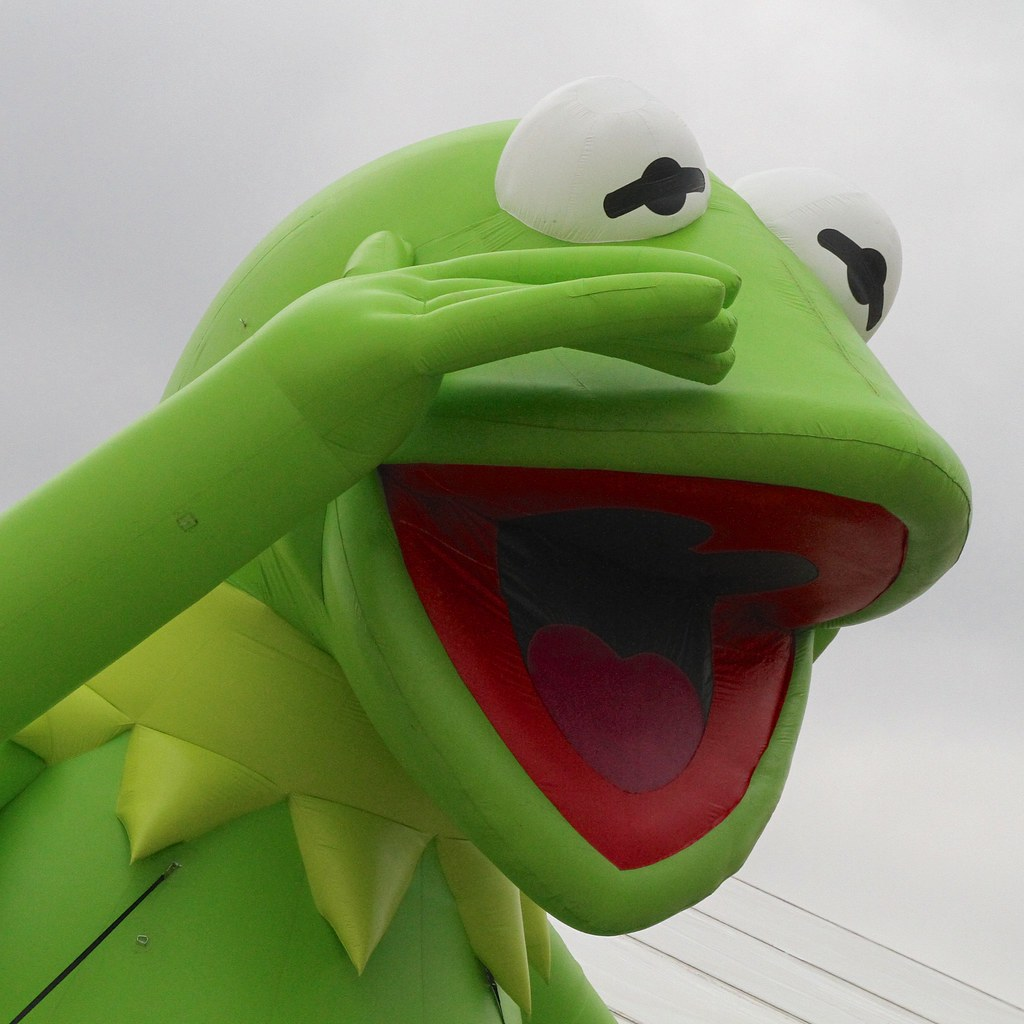 Hi-ho, Kermit the Frog here