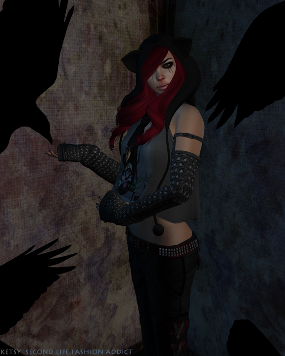 A Murder of Crows - NEW Post @ Second Life Fashion Addict, Pose Fair 2014 Showcase