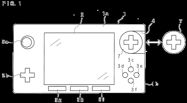 Nintendo Patents Handheld Console with Interchangeable Controls