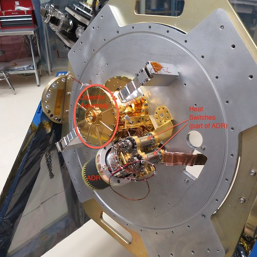 ASTRO-H SXS Detector Assembly