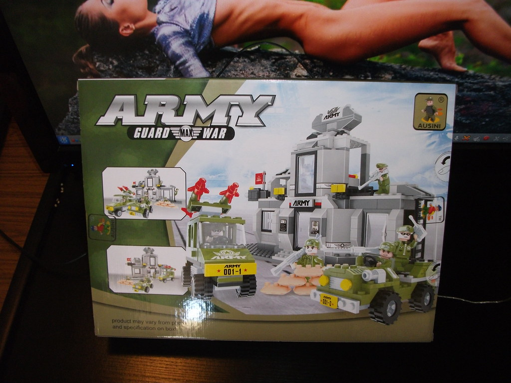 Bricks From Another Dimension Ausini Army Headquarters Review 22703