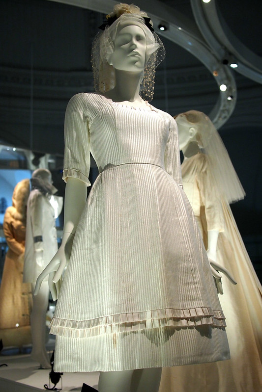 Wedding dresses at the V&A