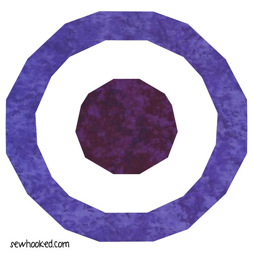 Hawkeye Paper Pieced Pattern
