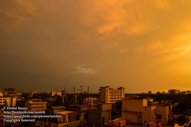 Post Thunderstorm Weather of Dhaka II