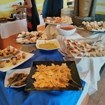 Buffet dinner at Hotel Ferrer Concord, Can Picafort, Santa Margalida, Mallorca, Balearic Islands, Spain
