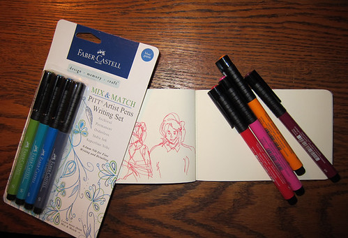 Faber-Castell Mix & Match Pitt Artist Pens Writing Set