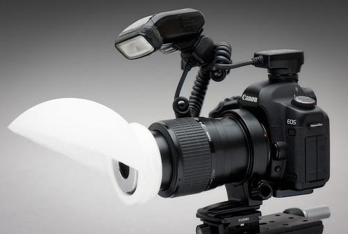 DIY Lamp shade macro diffuser