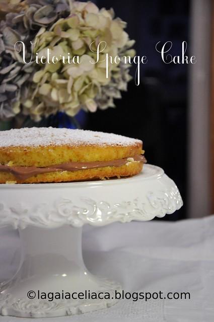 Gluten free Victoria Sponge Cake All-in-one