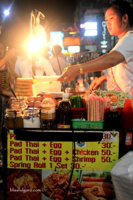 Pad Thai Khao San Road Bangkok