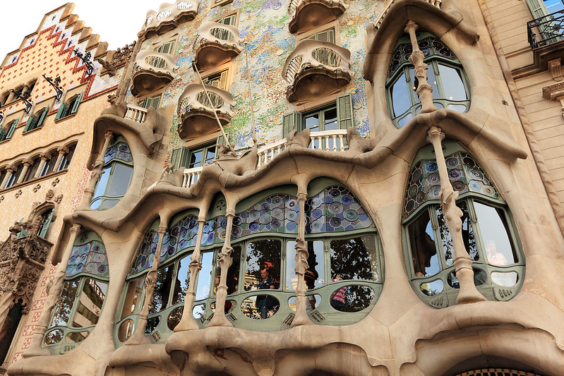 Casa Batlló windows