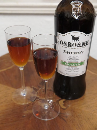 Sherry ( Osborne Sherry Rich Golden)