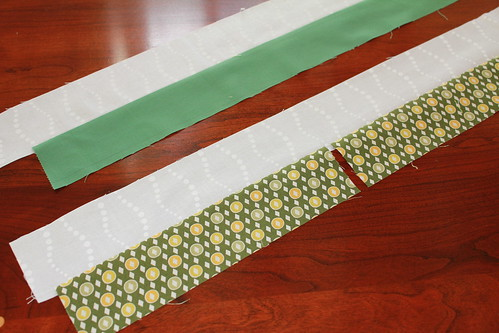 Windmill Block - Sewing Strips 2
