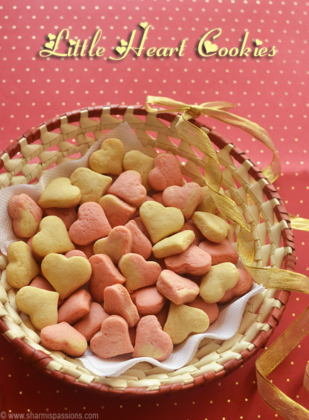 Little Heart Cookies Recipe