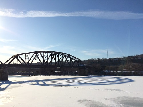 Fort Wayne Railroad Bridge - Feb. 20th 2015