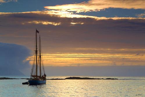 sailboat bay ship ngc sail reef anker twop sailship