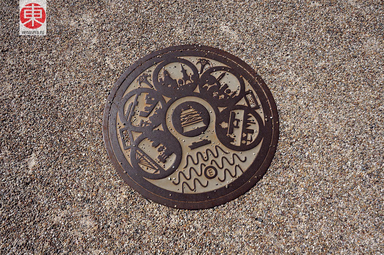 Канализационные люки в Нагоя