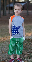Star Student Muscle Tee