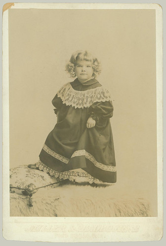 Cabinet Card little girl