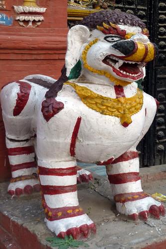 Nepal - Kathmandu - Durbar Square - Taleju Temple - Entrance - 189