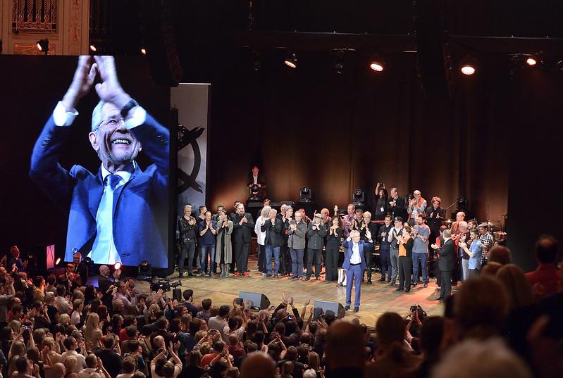 Stimmen für Van der Bellen - Ein Abend im Wiener Konzerthaus