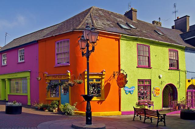 Burst of Irish joy