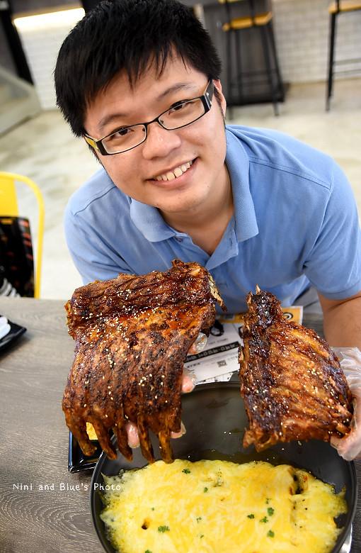 打啵G台中韓式料理烤肉串菜單menu價位24