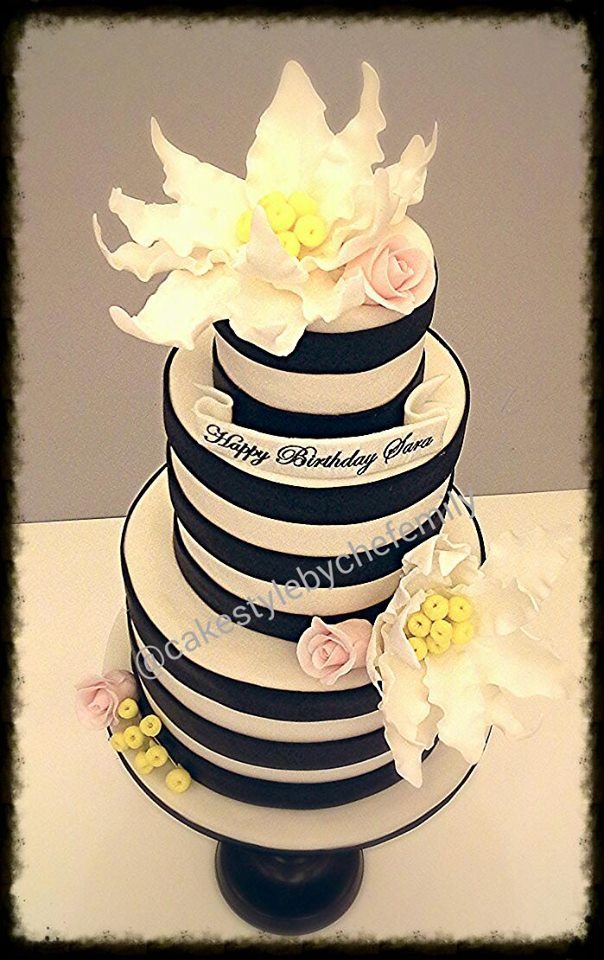 Emily Pacursa Peralta's Beautiful Cake
