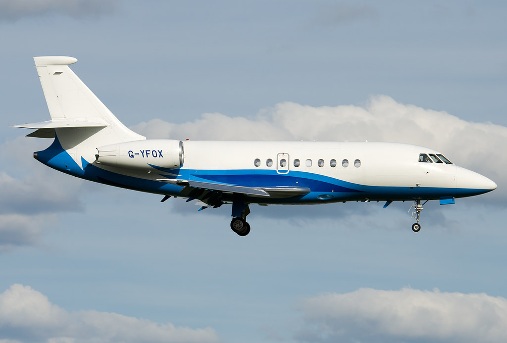 G-YFOX - F2TH - London Executive Aviation
