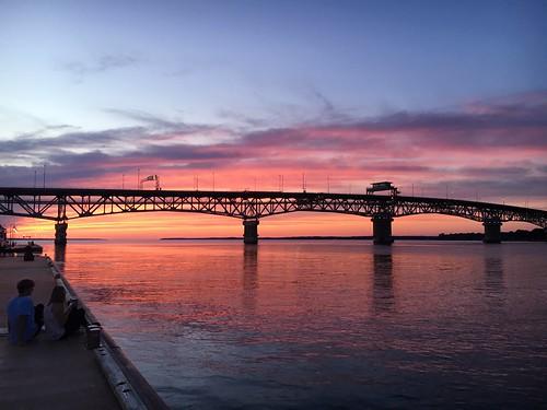 Sunset in Yorktown #Virginia1