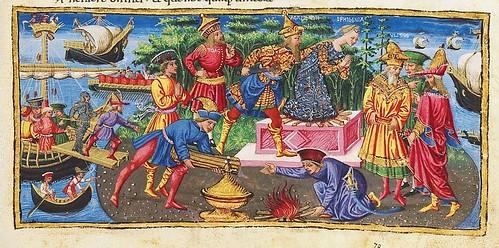 016-Bucolicon-Georgicon-Aeneis-1450-1460- Biblioteca Riccardiana de Florencia
