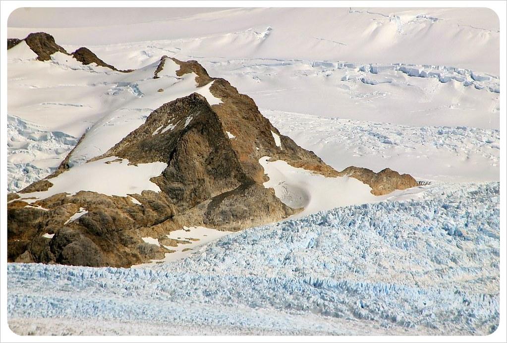 perito moreno glacier snow