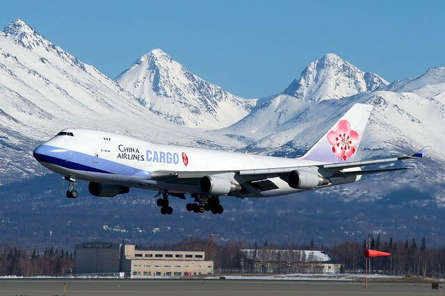China Airlines Cargo Boeing 747-400F B-18709